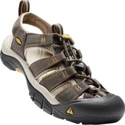 Photo of Keen men's trekking sandal Newport H2, size 44 in Raven / Aluminum, size 44 in Raven / Aluminum K