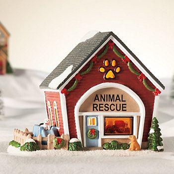 St. Nicholas Square® Village Animal Rescue So cute & Sweet #animalrescue