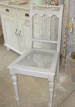vintage m bel im shabby chic selber machen stuhl. Black Bedroom Furniture Sets. Home Design Ideas