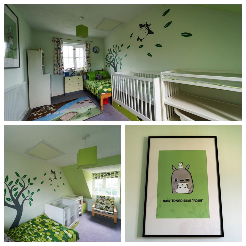 Studio Ghibli / Totoro inspired Nursery Nursery, Baby