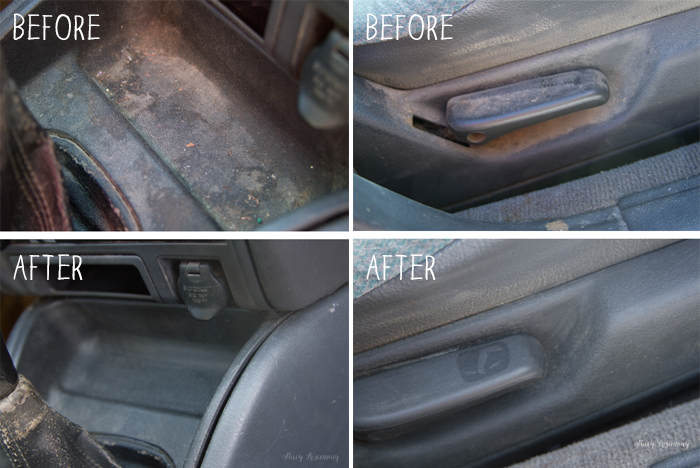 Cleaning The Inside Of A Car With The Steammachine By Not Just A Housewife Home Hacks Steam Car Wash Car Cleaning Steam Cleaners
