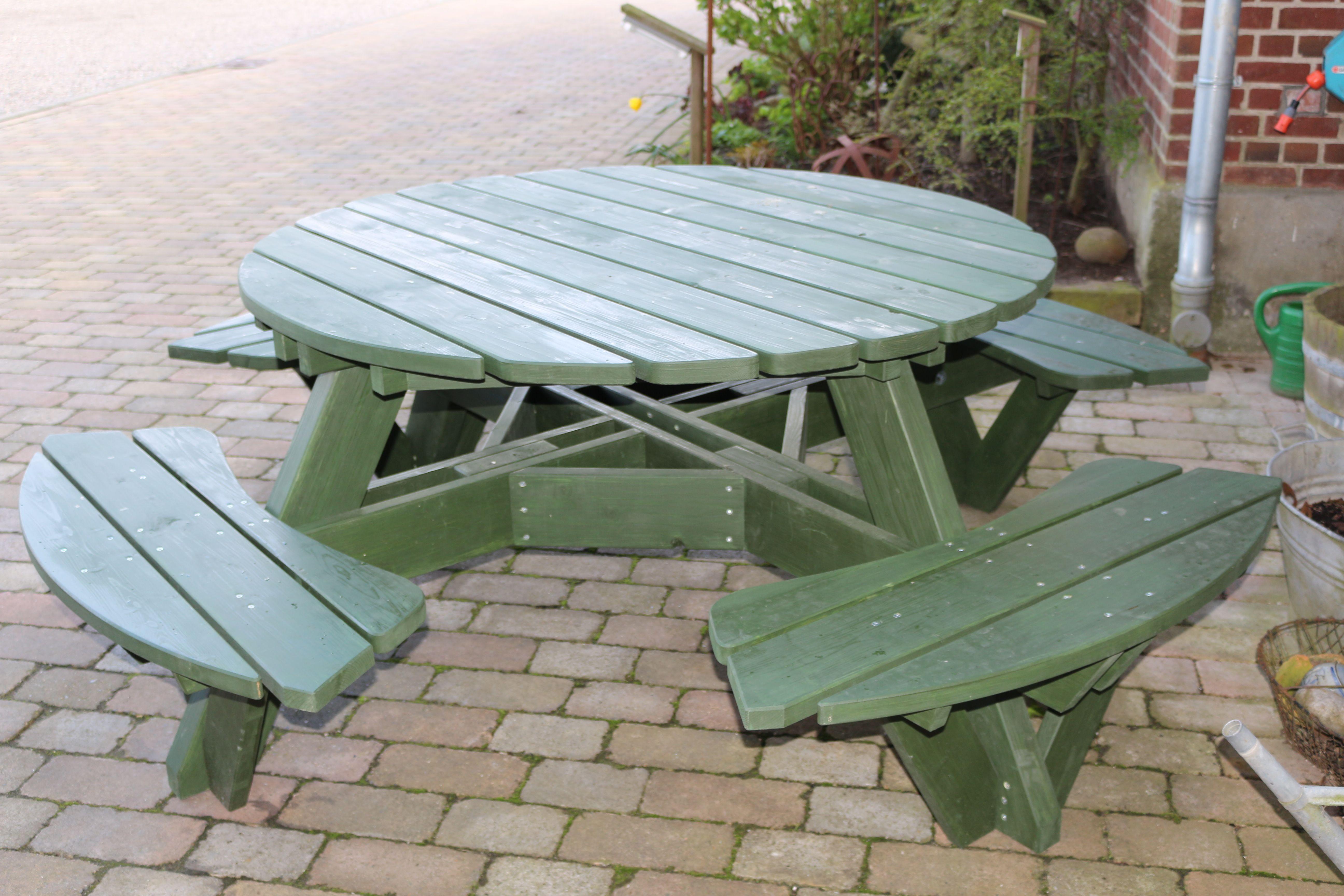 Gartentisch In Rund Gartenmobel Holz Gartentisch Gartenmobel