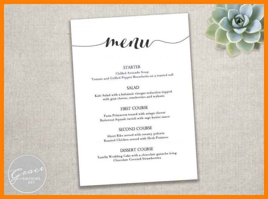 9 Dinner Party Menu Templates Dragon Fire Defense Menu Card Template Free Printable Menu Free Printable Menu Template