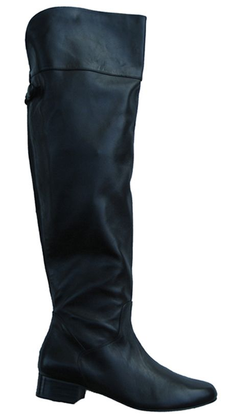 e33333e25883 Ros Hommerson Women's Beth Extra Wide Calf Over-the-Knee Boot (Black ...