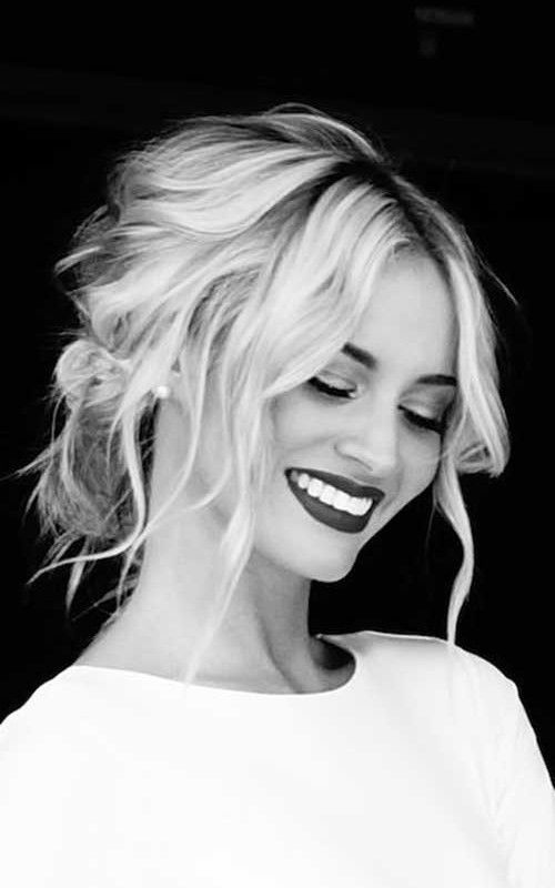 Wedding Hairstyles Hairs Pinterest Loose Updo Hair 2016 And Updo