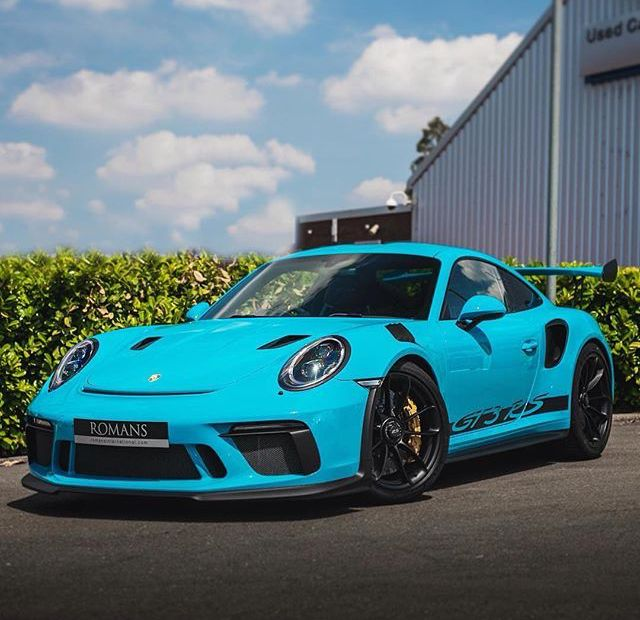 Porsche GT3RS 991.2 Miami Blue (With Images)