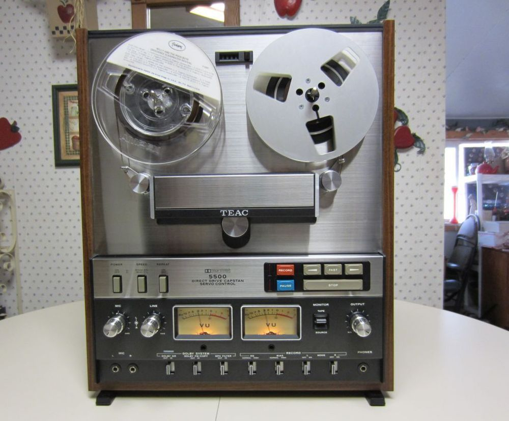 Vintage Teac A-5500 Reel to Reel Player A5500 A 5500 Tape Deck