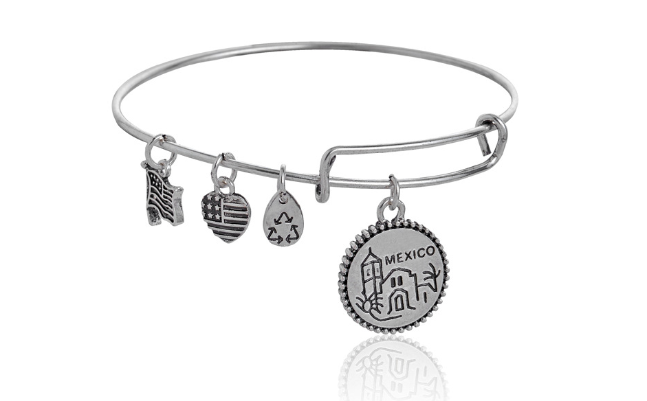 Alex And Ani Mexico Pendant Charm Bracelet A Perfect Gift