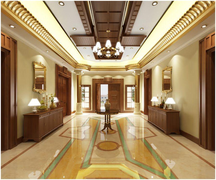 elegant hallway!!!   False ceiling living room, Ceiling ...