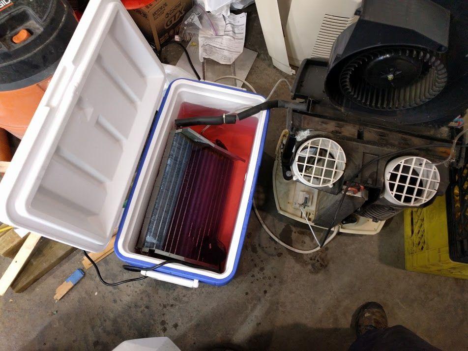 Making a DIY 12000 BTU/hr Glycol Chiller homebrewing