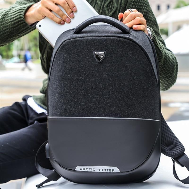 9be85eb1c51 Arctic Hunter Brand Men Backpack Anti Theft Usb Charging 15 Inch Laptop Bag  Business Travel Casual Back Pack Bag Women Mochilas