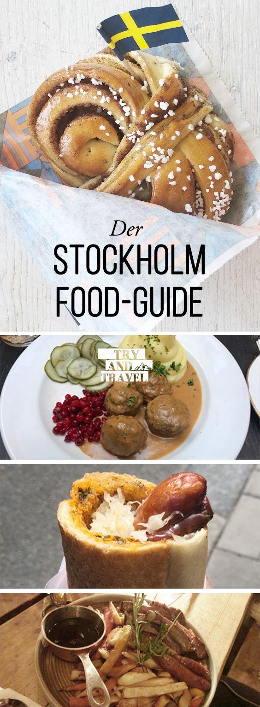 Food Guide für Stockholm, Schweden