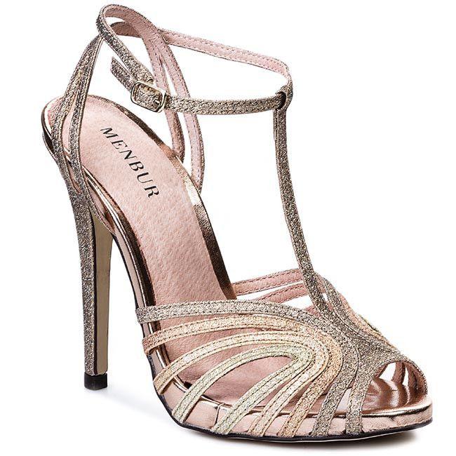 Sandaly Damskie Szpilki Menbur 005870 Roz 36 I 37 4909475545 Oficjalne Archiwum Allegro Wedding Shoes Heels Shoes