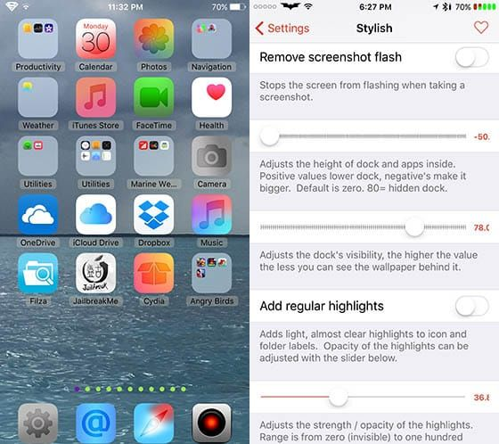 Cydia Tweak Stylish 1.0.31 Facetime, Stylish, App icon