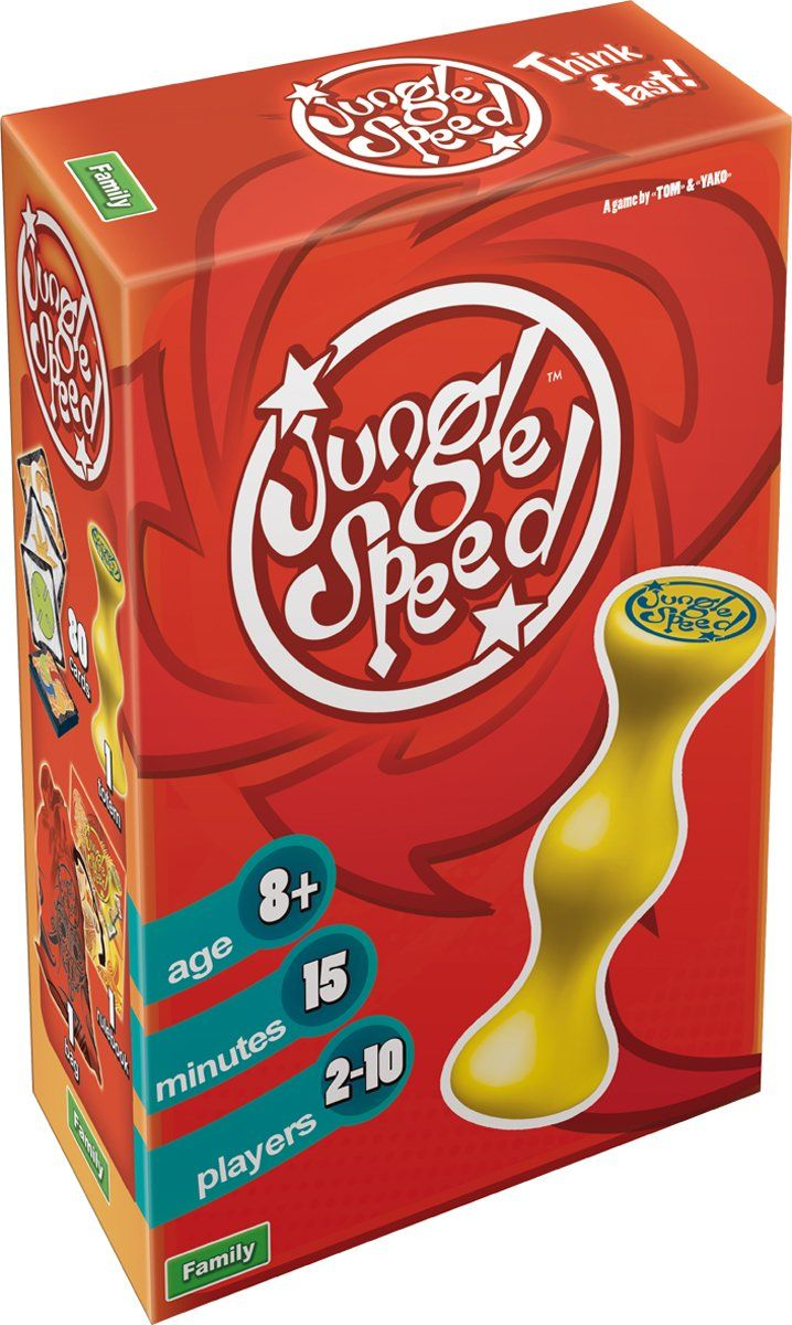 Jungle Speed Speed card game, Speed games, Card games