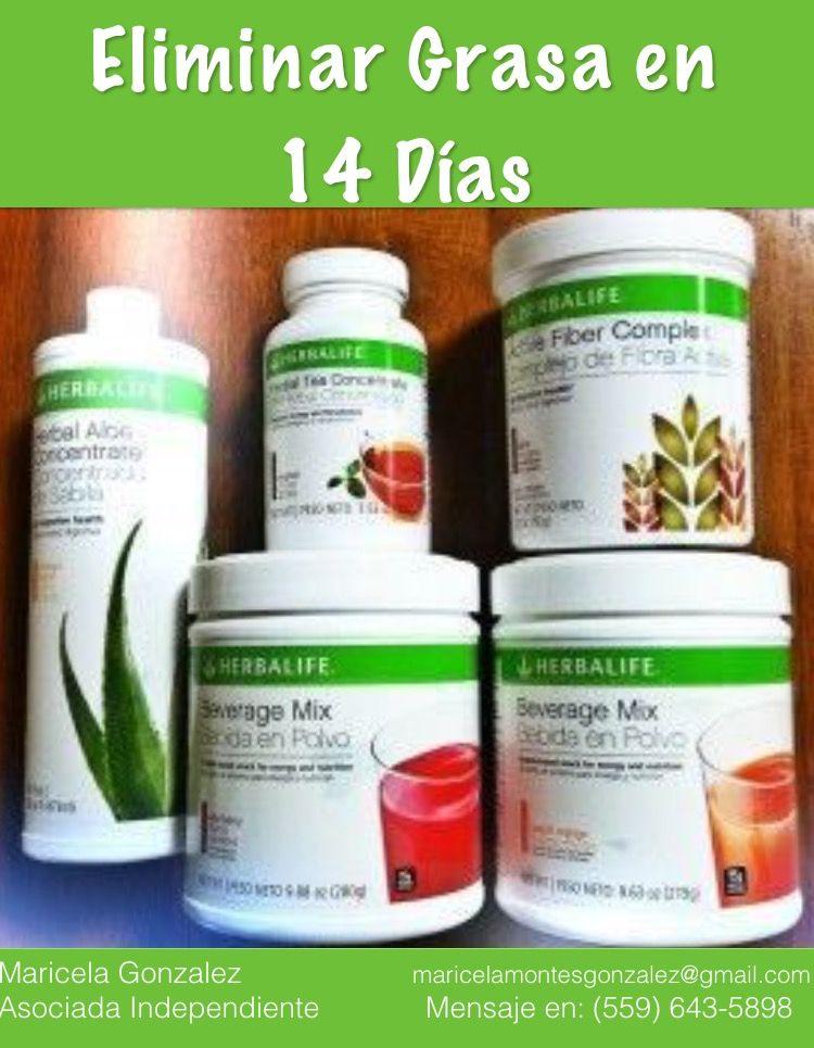 Eliminar Grasa en 14 Días con Herbalife : Herbal Tea