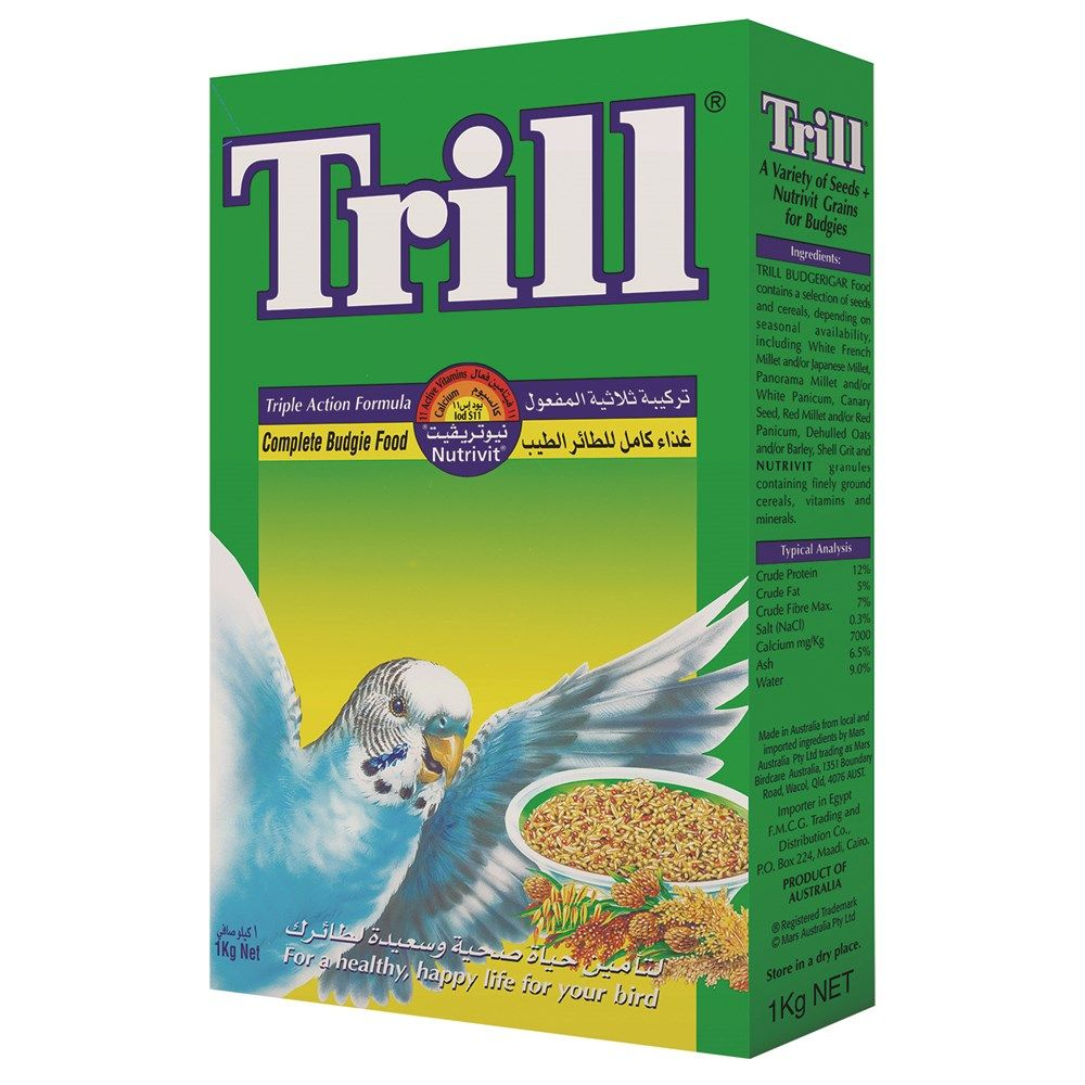 PriceAED 15 BuyTrill Budgie Bird Food Online in UAE