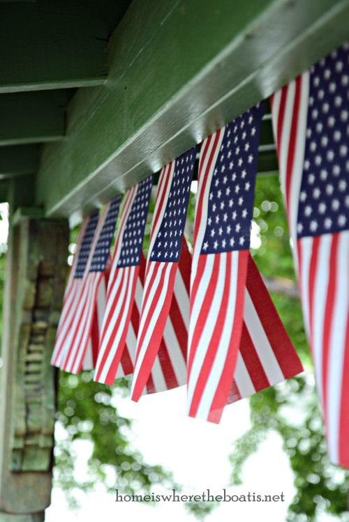 Patriotic Dressing Potting Shed Fourth Of July Flag 4th Of