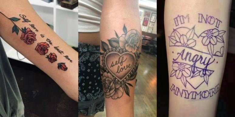 25 Self-Love Tattoos With Deep Meanings To Remind You To ...