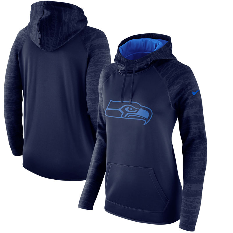 Seattle Seahawks Nike Women's All Time Performance Hoodie College  free shipping