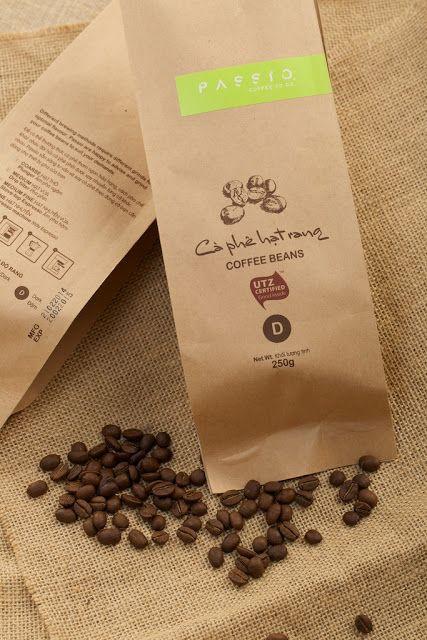 Passio Coffee Beans Coffee Beans Coffee Coffee Bag Design
