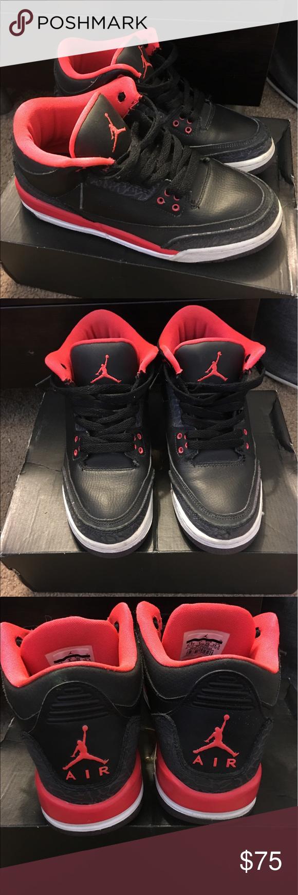Air Jordan 3 GS size 6.5 Air jordans, Jordan 3, Air