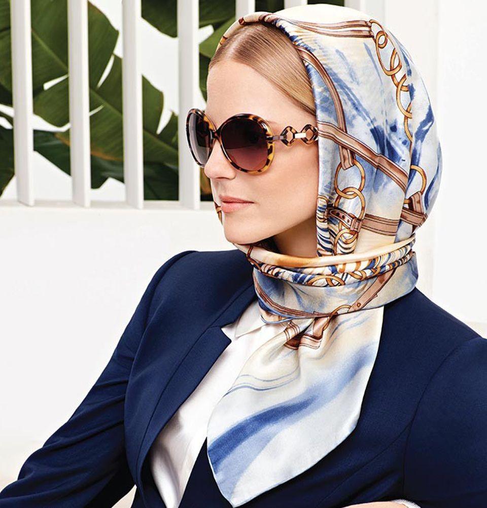 how to wear a headscarf hijab