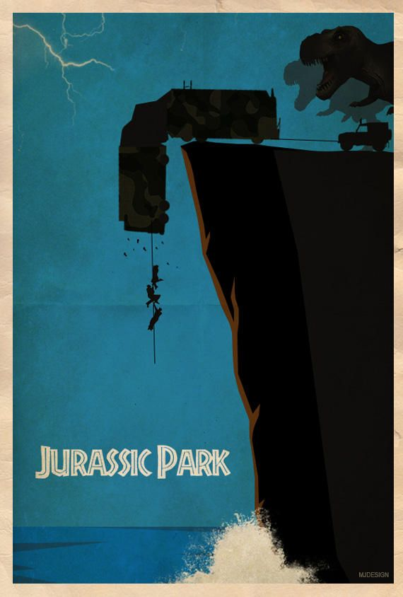 Jurassic Park The lost world Poster by mjd360 on DeviantArt