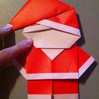d corations de no l en origami mode d 39 emploi. Black Bedroom Furniture Sets. Home Design Ideas