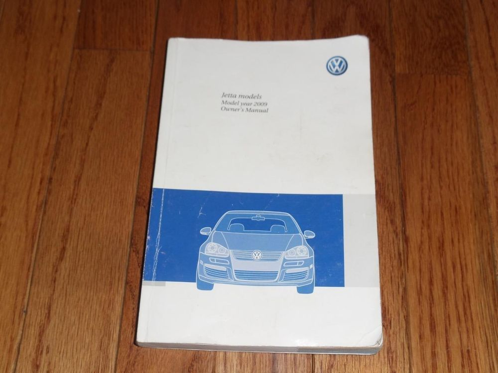 2009 volkswagen jetta owners manual book | owners manuals