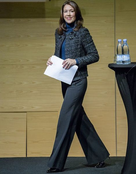 Crown Princess Mary opens the Danish National Centre for Social Research Conference