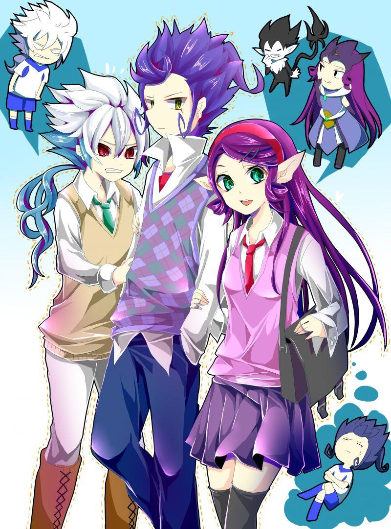 Inazuma eleven go galaxy tsurugi images princess - Inazuma eleven galaxy ...