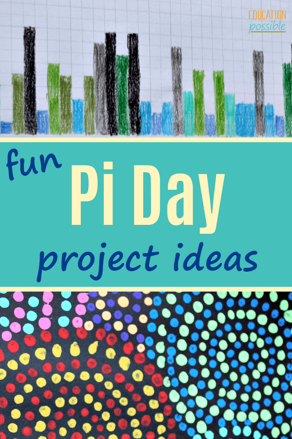 Even if you or your kids aren't self-described math geeks, you can still enjoy yourself on Pi Day. Spend some time on March 14th (3.14) having a blast with these Pi related activities. It's a great way to teach your middle schoolers that math is fun! #piday #mathisfun #middleschool #educationpossible