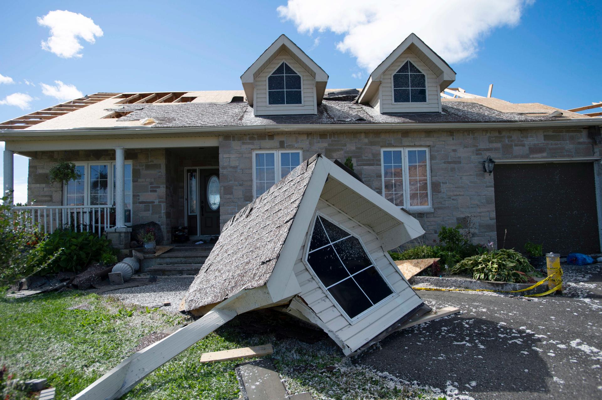 Canada's capital reeling after tornado hammers communities