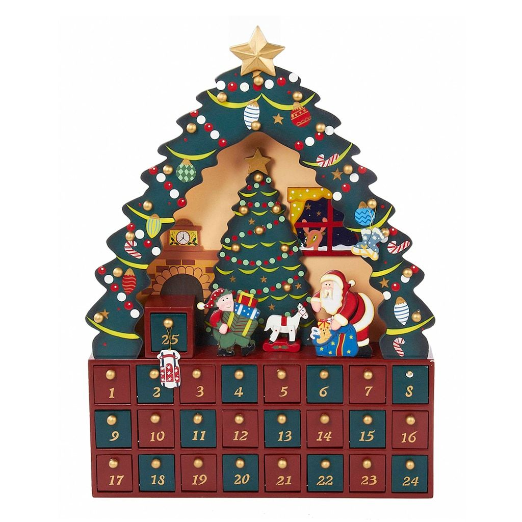 Kurt Adler Christmas Tree Advent Calendar Christmas Tree Advent Calendar 16 Christmas Christmas Advent