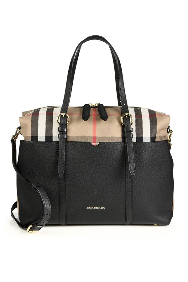 8609c7403cf0 For the parents on the go this luxe  Burberry baby bag will keep you  organized and stylish  SaksStyle