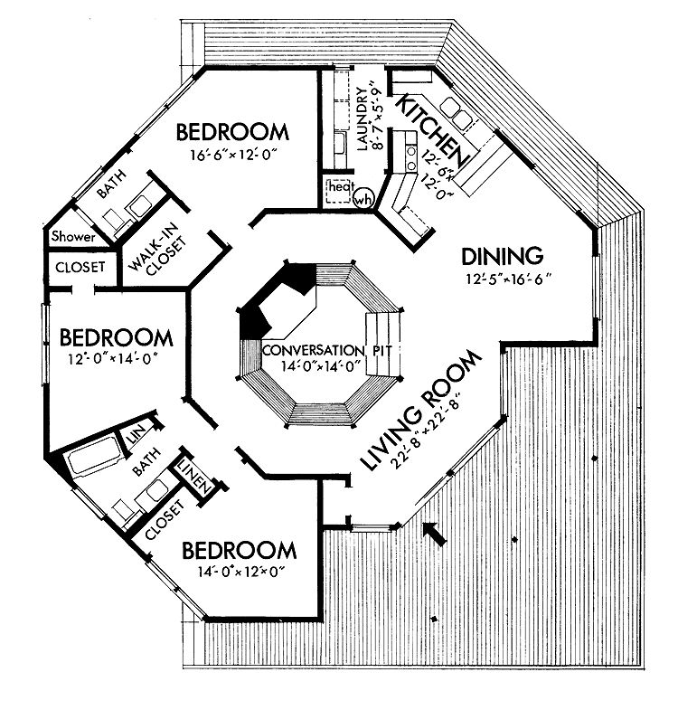 Pin By Tina Gray On Houses Square House Plans Round House Plans Octagon House