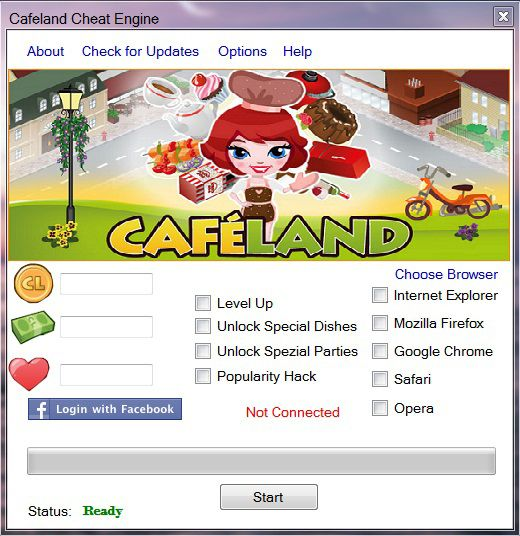 download cafeland hack tool terbaru