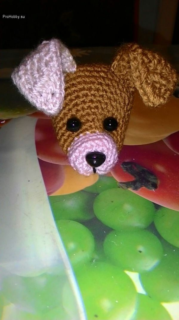 Lindo crochet cachorro / Juguetes de tejer / ProHobby.su | Juguetes ...