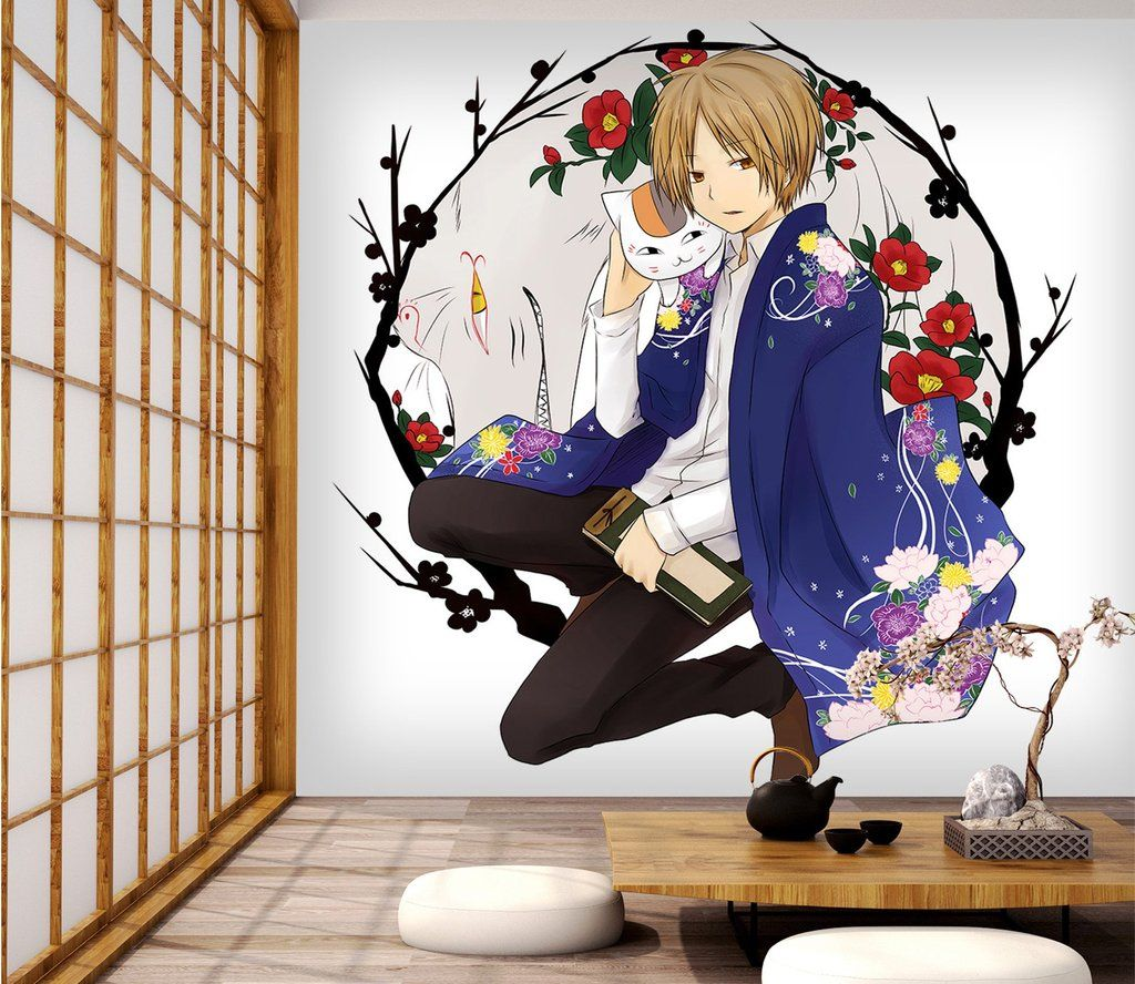 3D Garland Cat 56 Anime Wall Murals in 2019 | Anime Wall