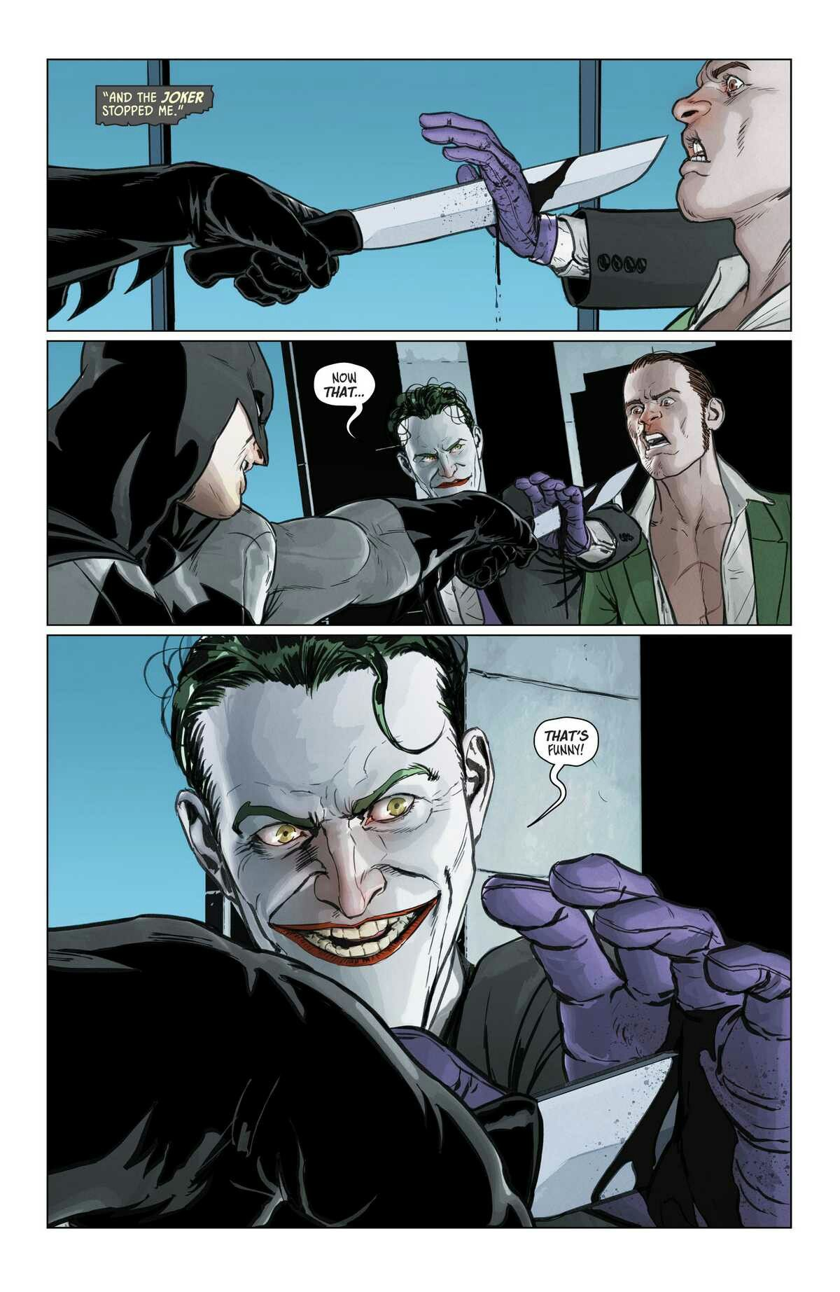 Batman 32 So He Was Going To Legit Kill The Riddler And I