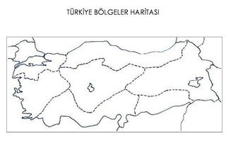 Turkiye Turkiyeboyama Turkiyeboyamasayfalari Bolgeler Boyama Sayfalari Okul Oncesi Dorduncu Sinif
