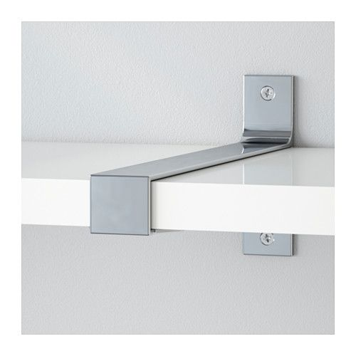 IKEA EKBY BJÄRNUM jointing bracket Connects 2 shelves for a larger shelf combination.