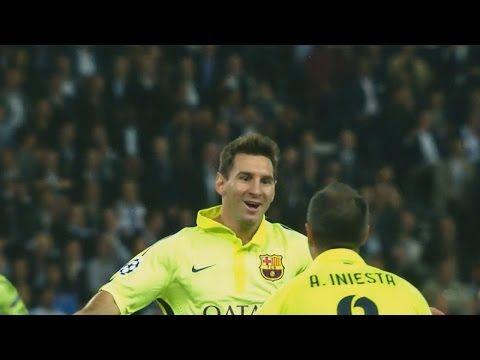 Lionel Messi Vs Paris Saint Germain Away HD 1080i UEFA Champions League Group Stage (30/09/2014)