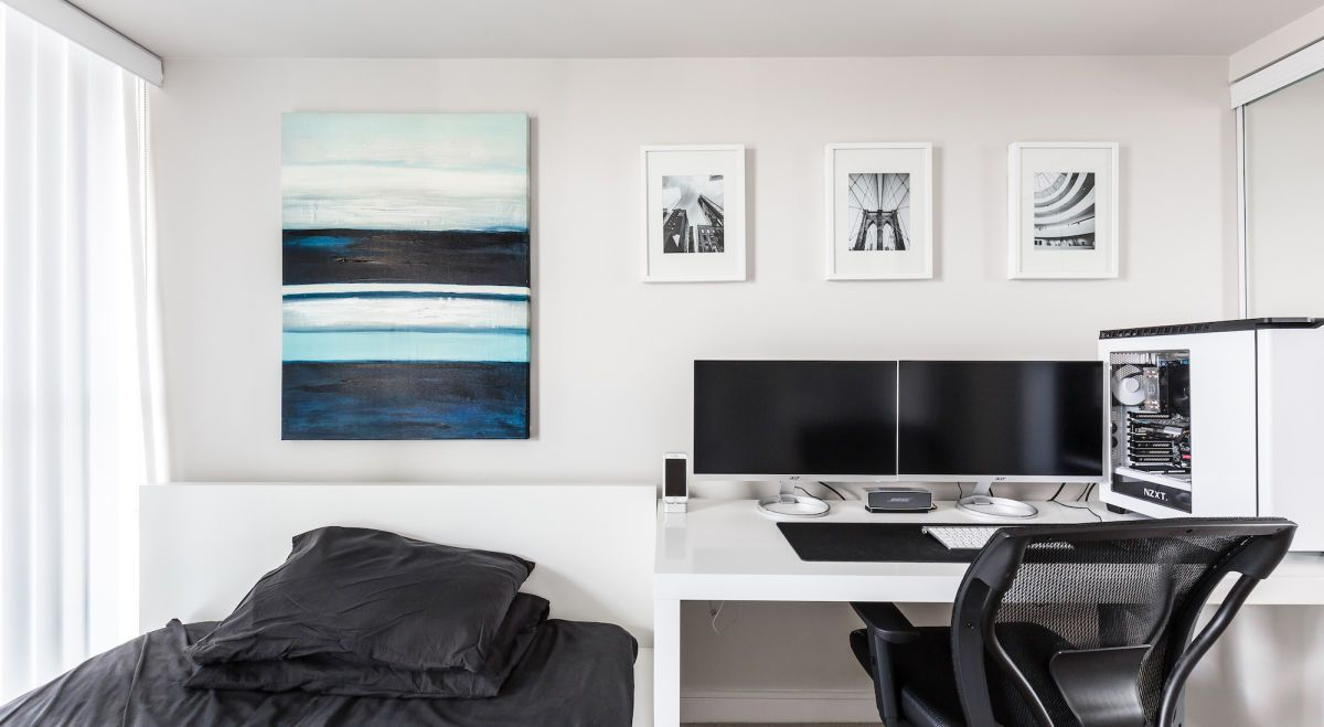 This Bedroom/Design Studio is Ridiculously Cool | Graphic designers ...