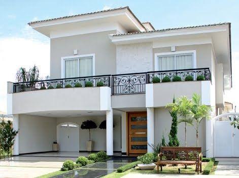 Referências Clássicas Nortearam O Projeto Arquitetônico E Decorativo Desta  Casa De Forma Bem Dosada Em Conjunto