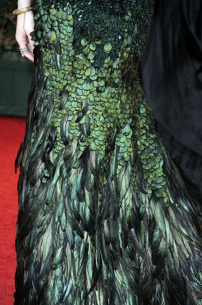 Obscene Feather Dress