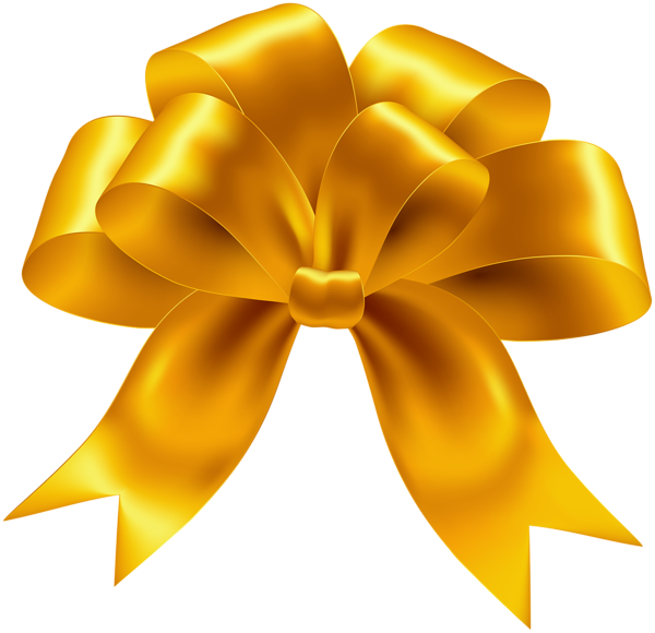 Yellow Bow Transparent Png Image Ribbon Png Bow Clipart Clip Art
