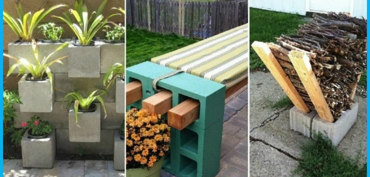 Comment organiser votre jardin avec de simples blocs de b ton voici 30 id es tr s sympa - Organiser son jardin ...