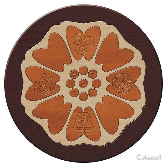 Order Of The White Lotus Sticker Avatar Tattoo Avatar Avatar